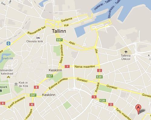 Miten Paasen Karnaluksiin Tallinna Kartta Viro