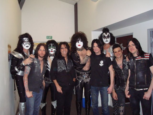Alice Cooper And Kiss Alice Cooper Best Kisses Hot Band
