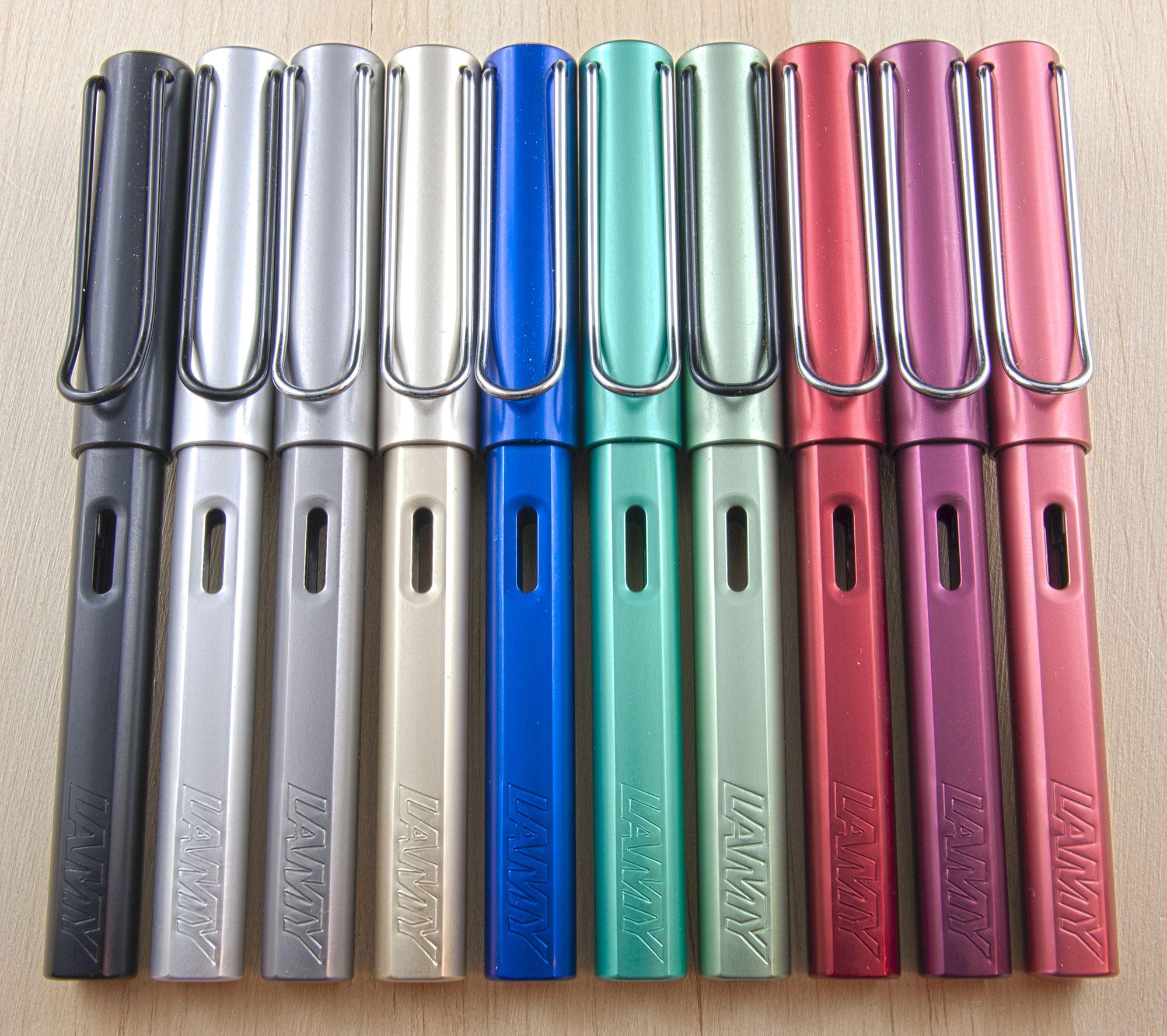 My collection of Lamy AL-Star! Marco www.stilografica.it | Fountain pen  ink, Lamy fountain pen, Fountain pen