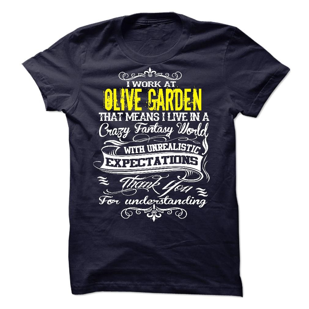 """Trend Forecast 2019 """"work At Olive Garden Hoodies -"""" 