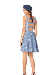 Kleid schnittmuster ruckenfrei