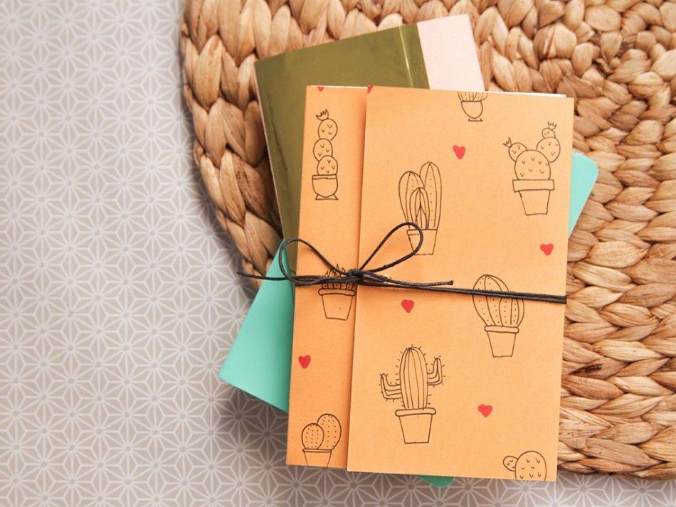 diy fabriquer un carnet soi m me id es diy diy diy paper et diy gifts. Black Bedroom Furniture Sets. Home Design Ideas