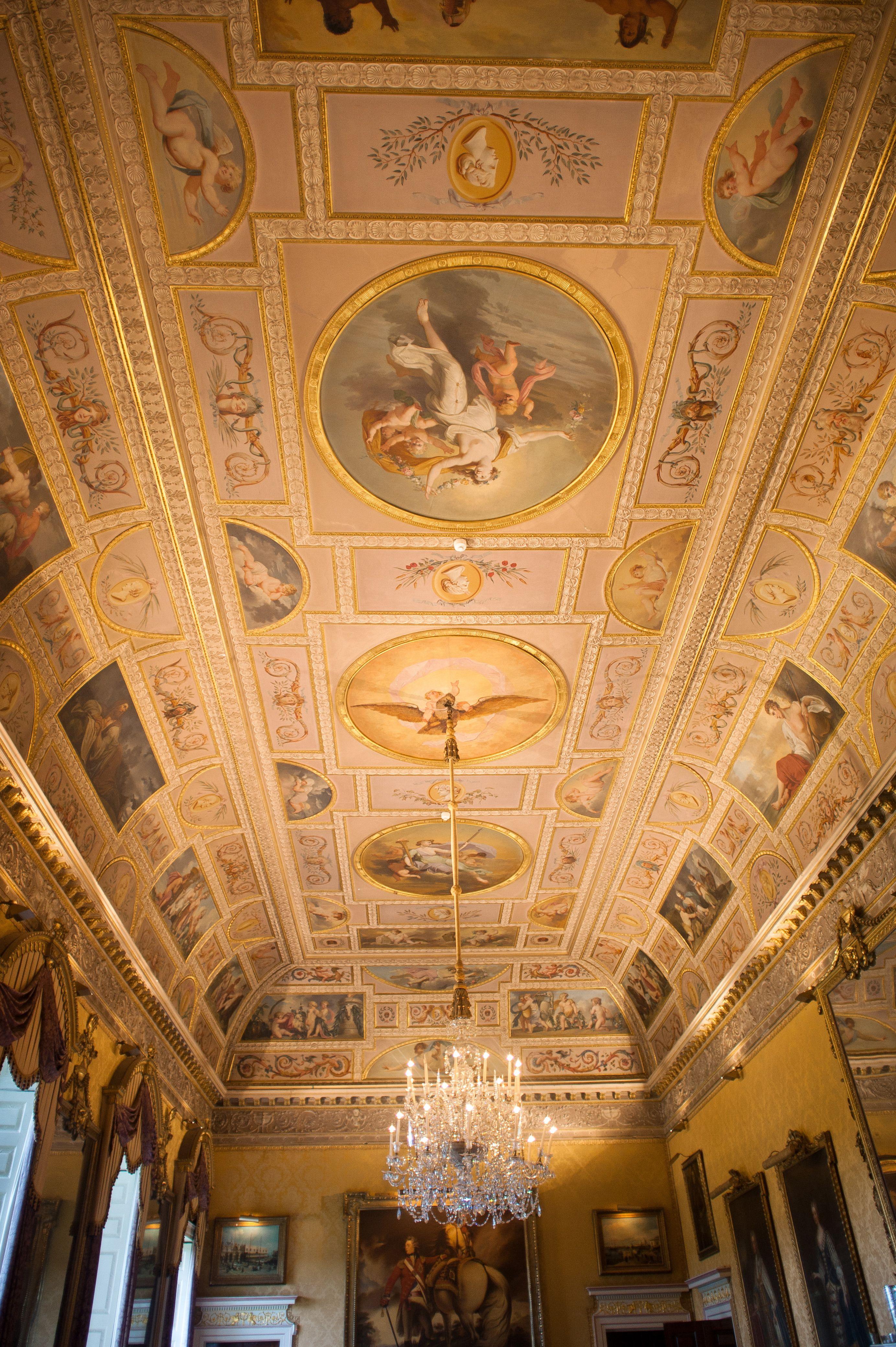 Romantic british wedding at brocket hall england stately homes