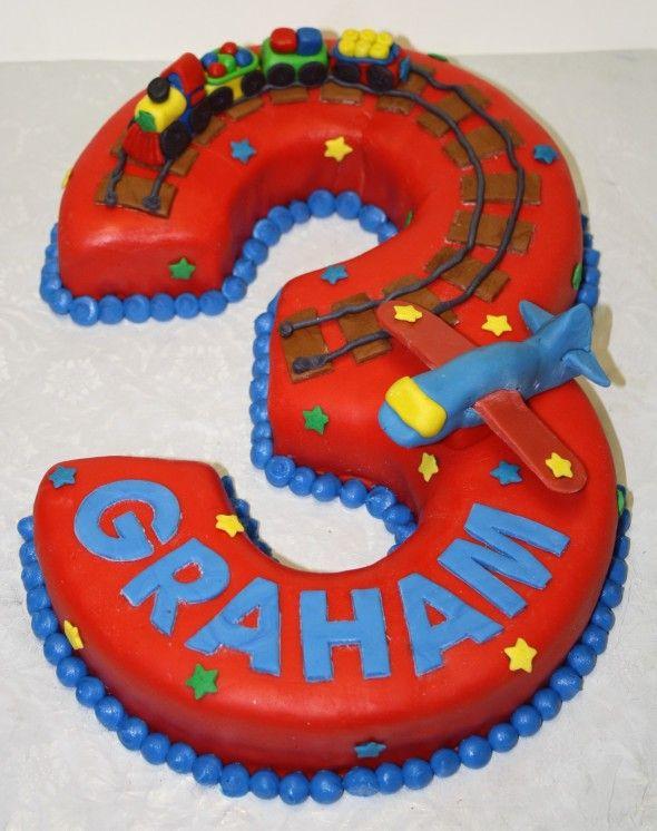 Train Plane Birthday Cake Planes Beautiful cakes and Cake