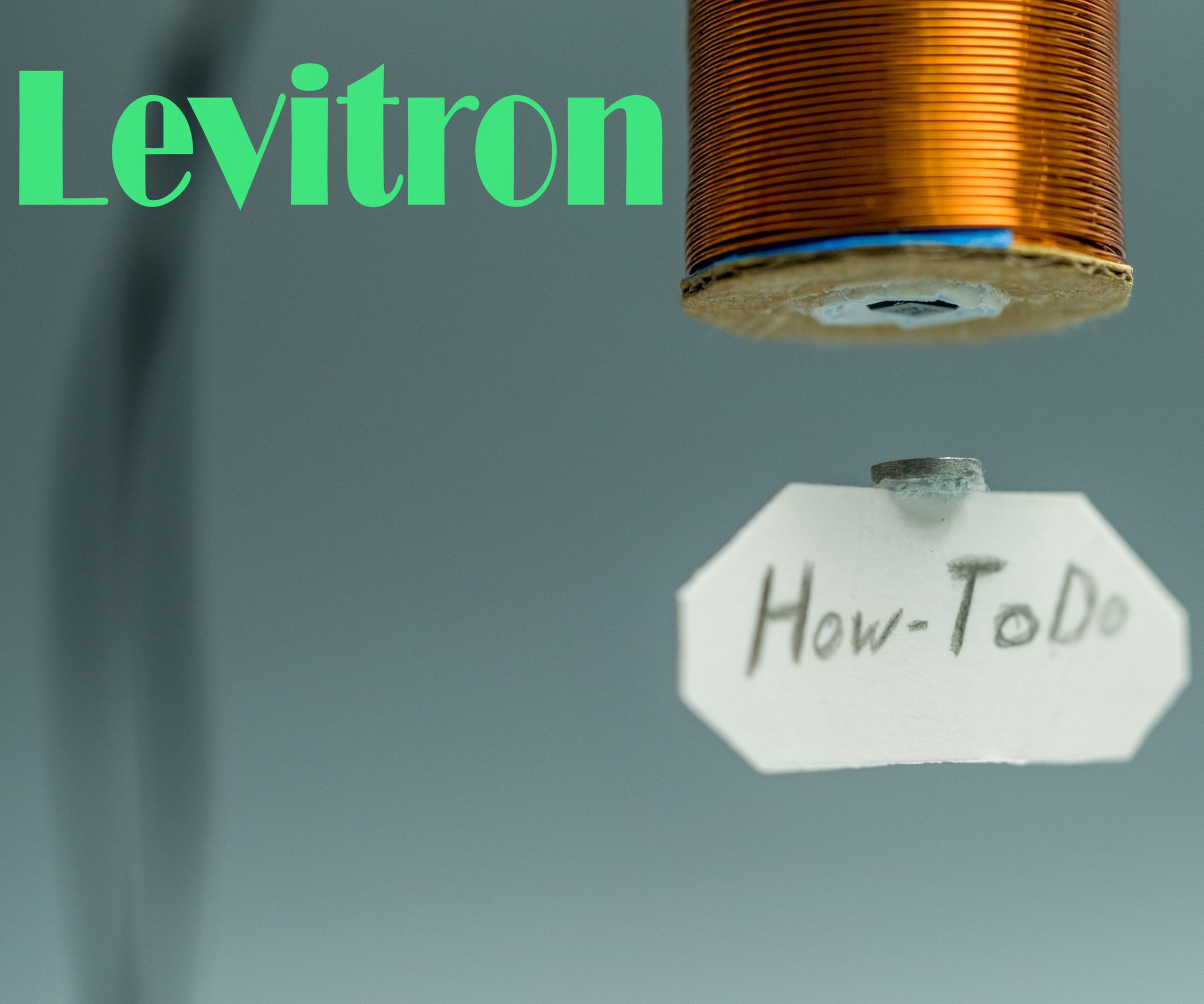 Homemade Electronic Levitron