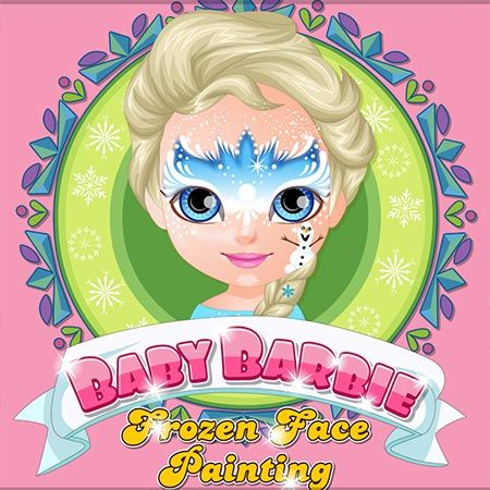 Here you can play Baby Barbie Frozen Face Painting game. Baby Barbie ...