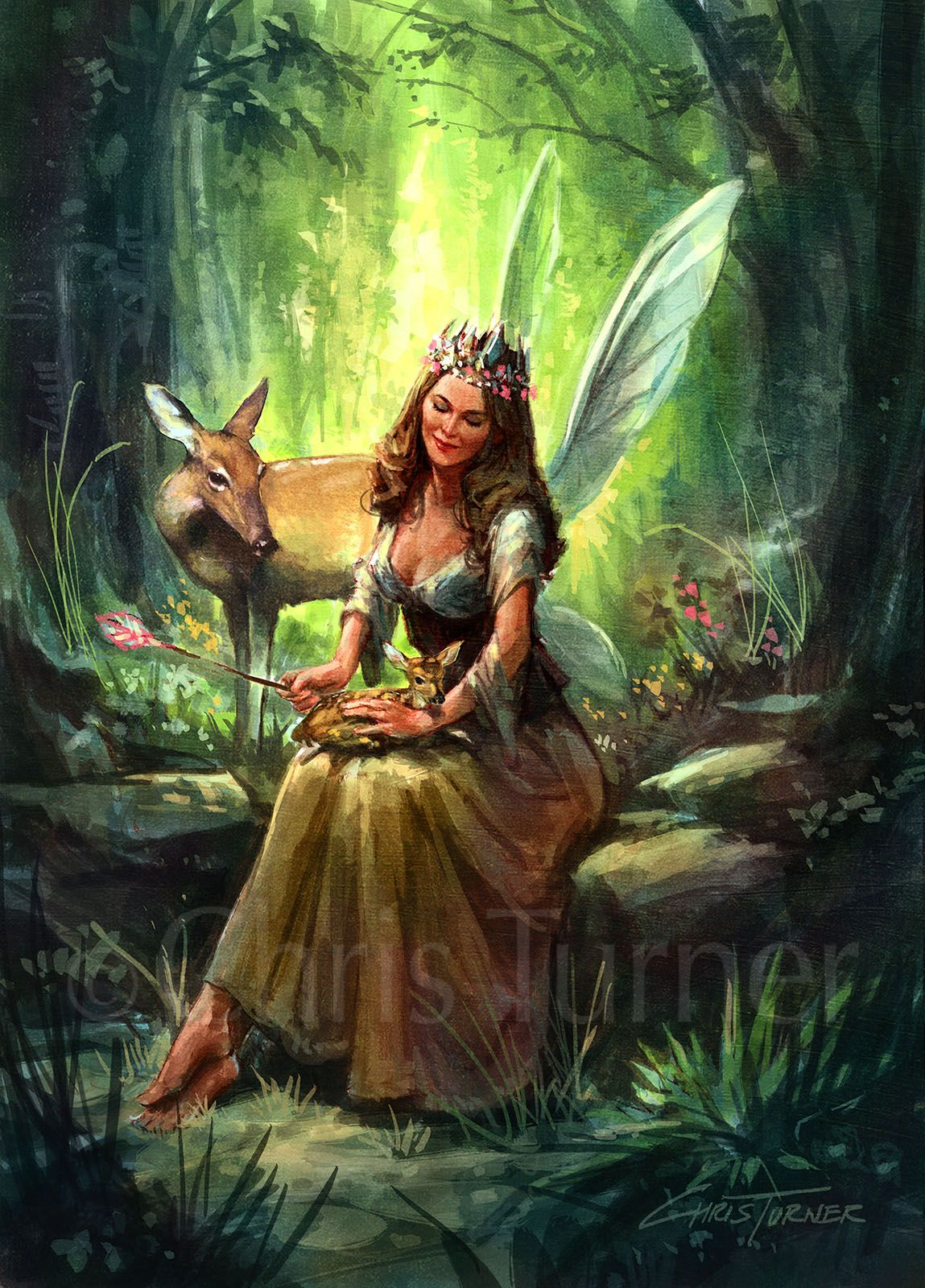 Image Result For Woodland Fairy Art With Images Fairy