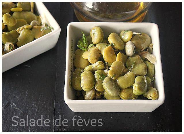 Délices d'Orient: Salade de fèves à la libanaise   Salade de fèves, Cuisine libanaise, Cuisine ...