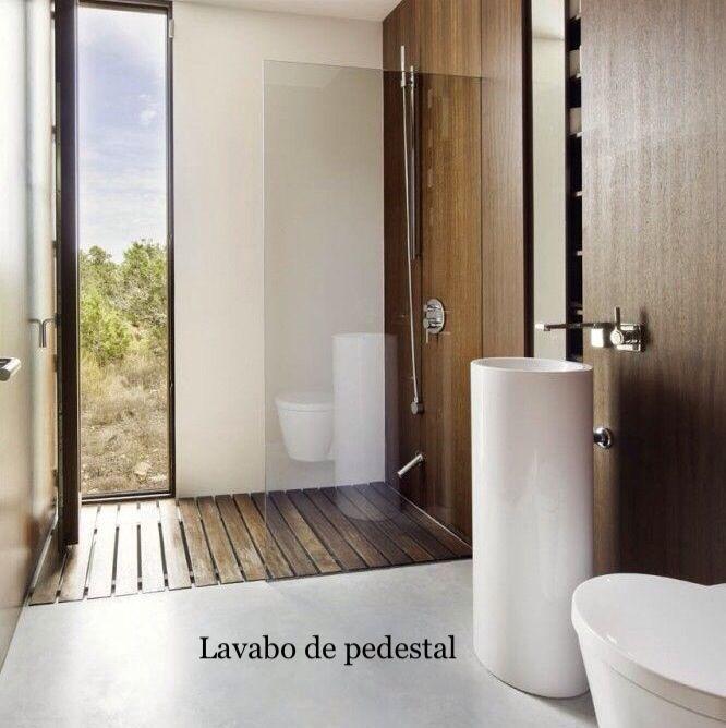 Muebles baño visitas