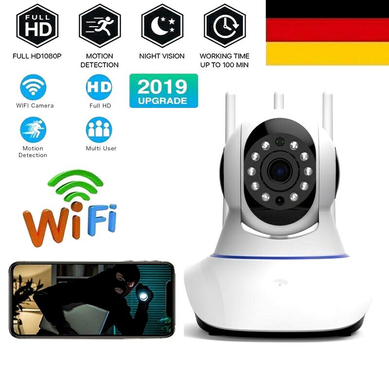 Neige Überwachungskamera 360° Panoramasicht EZVIZ C6TC Full HD WLAN Schwenk-