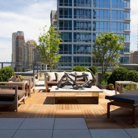 Roof Terrace Garden Design 25 inspiring rooftop terrace design ideas httpwwwdesignrulzcom Find This Pin And More On I Want A Roof 44 Amazing Rooftop Terrace Design