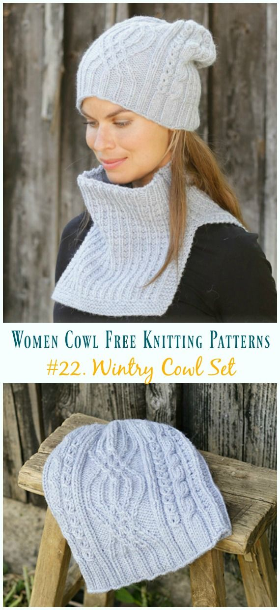 Split Rib Cowl Knitting Free Pattern - Women Cowl [21 ...