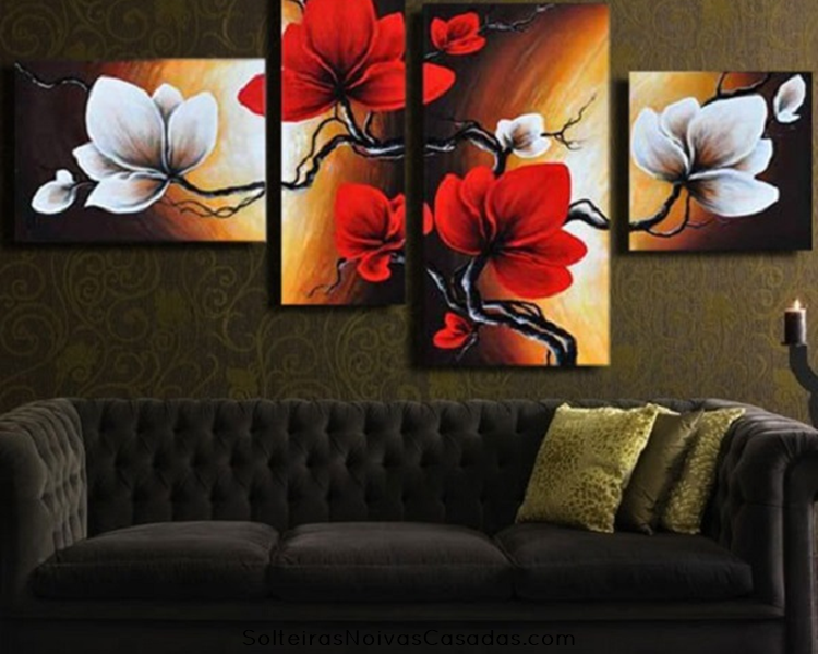 Quadros pintura moderna abstrata