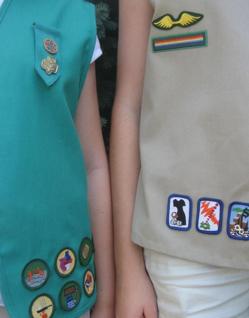 came across this blog done by 2 young girl scouts. lots of ideas for