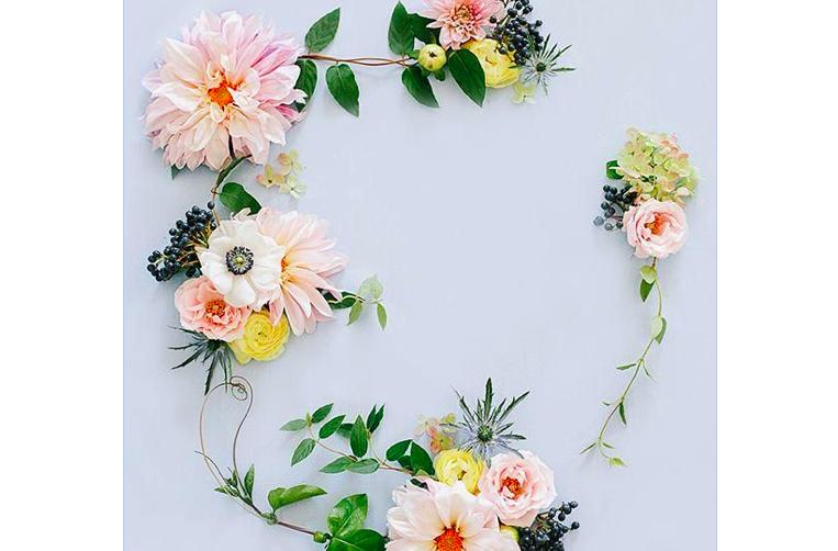 DIY Spring Garlands