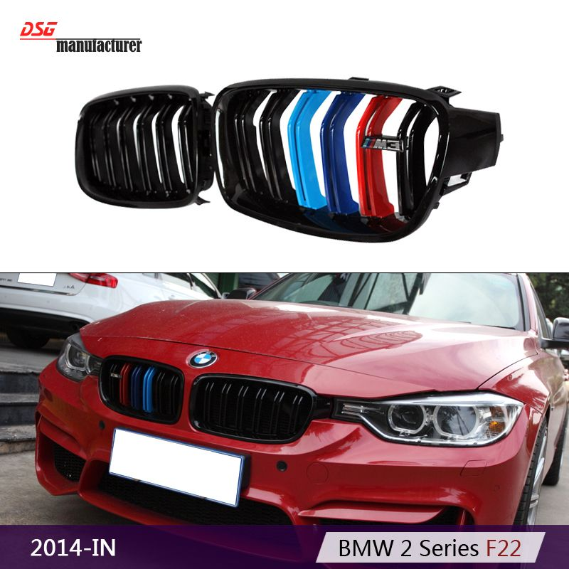 M Performance F30 Style Tri Color Bumper Grill For Bmw 2012 2013