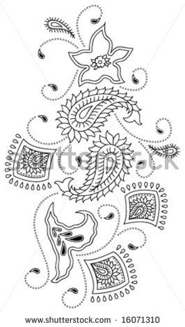 Free Paisley Embroidery Designs Traditional Paisley Design Kashmir