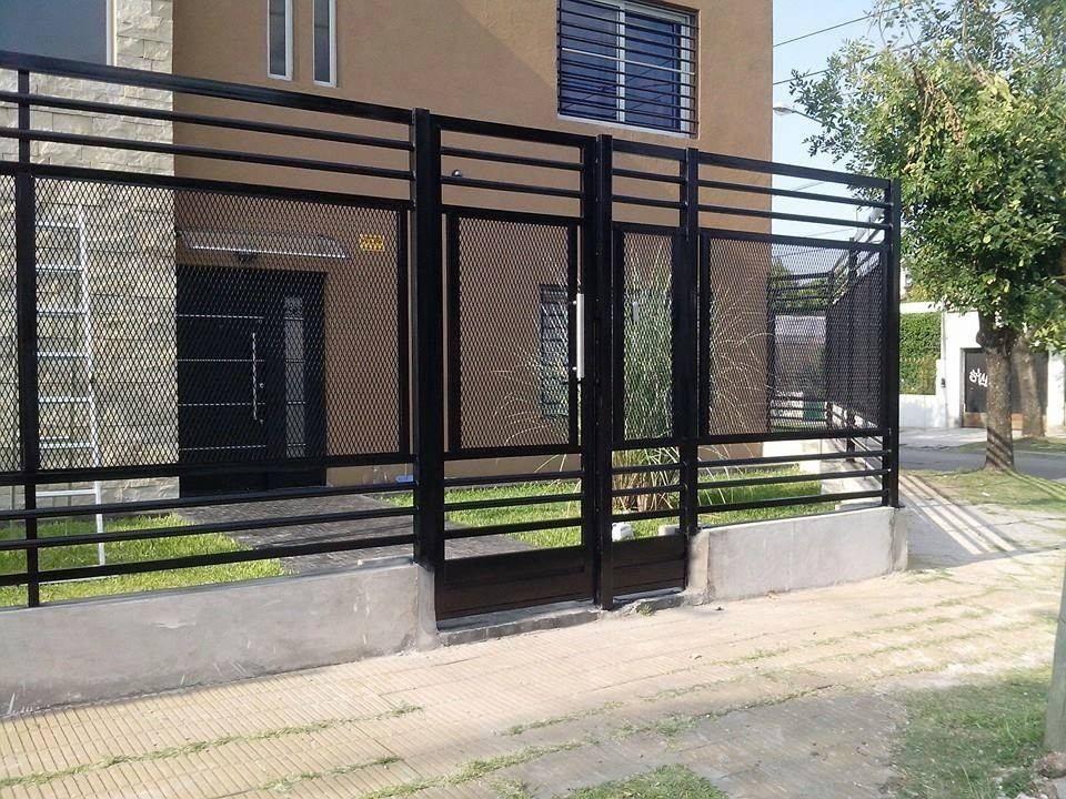 Frentes rejas oferta mejor precio del mercado for Rejas modernas para frentes de casas minimalistas