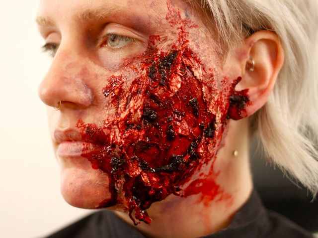 how to make a fake wound - Halloween Fake Wounds