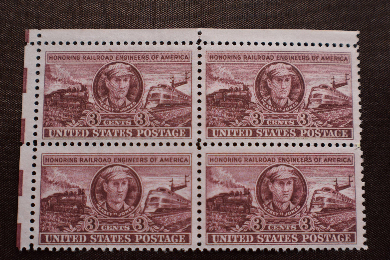 Us Scott 993 Railroad Engineers Of America 1950 Unused
