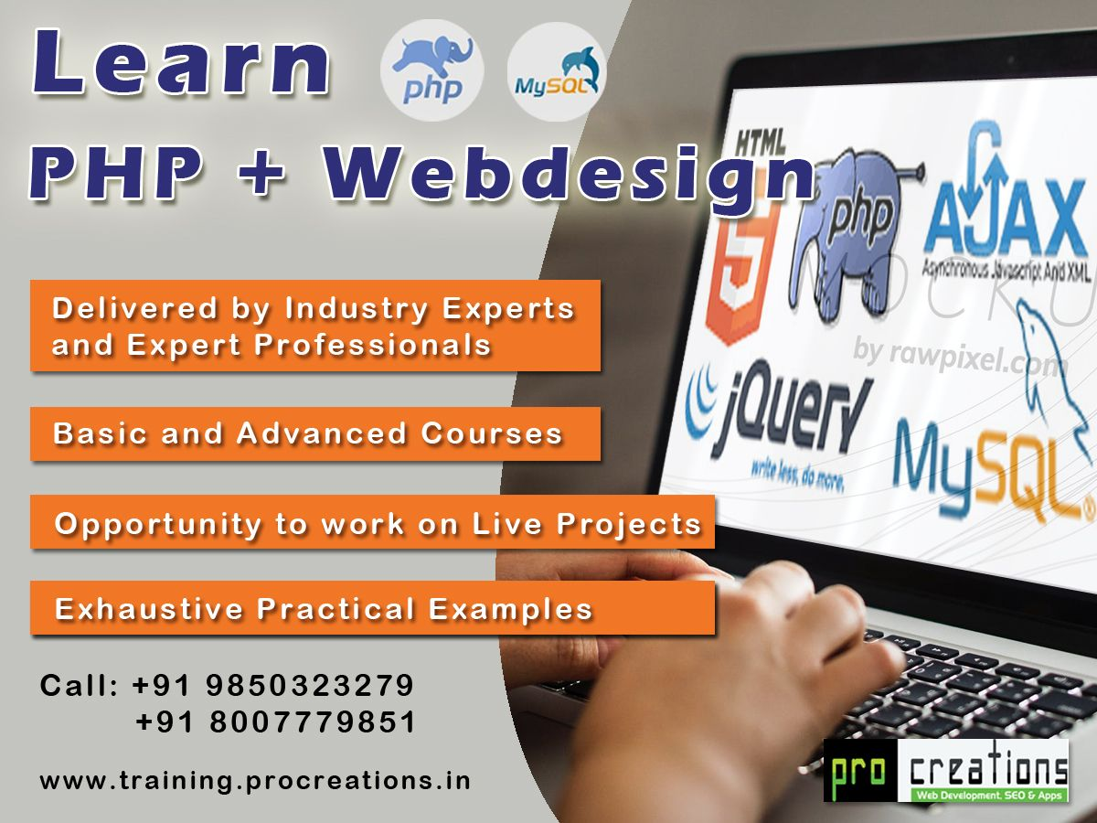 Php And Web Design Course Nagpur Web Design Training Web Design Course Web Design