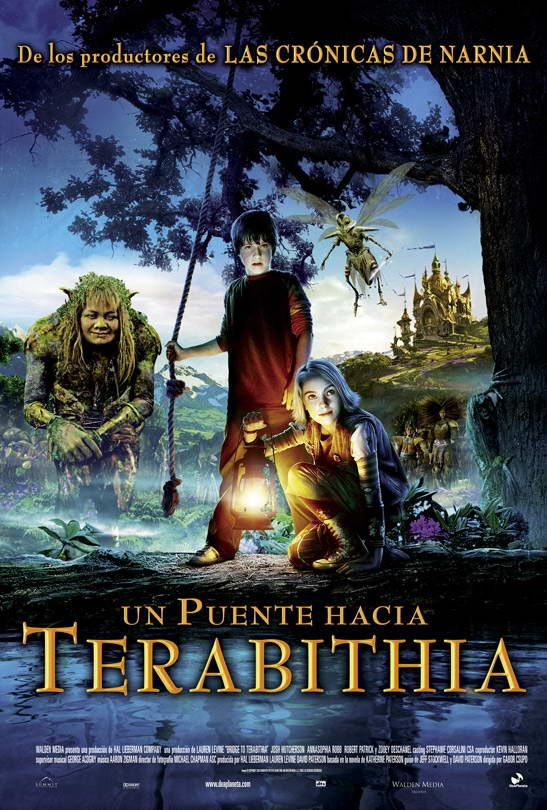 Me Recuerda Mi Infancia Puente Hacia Terabithia Mundo Magico De Terabithia Películas De Aventuras