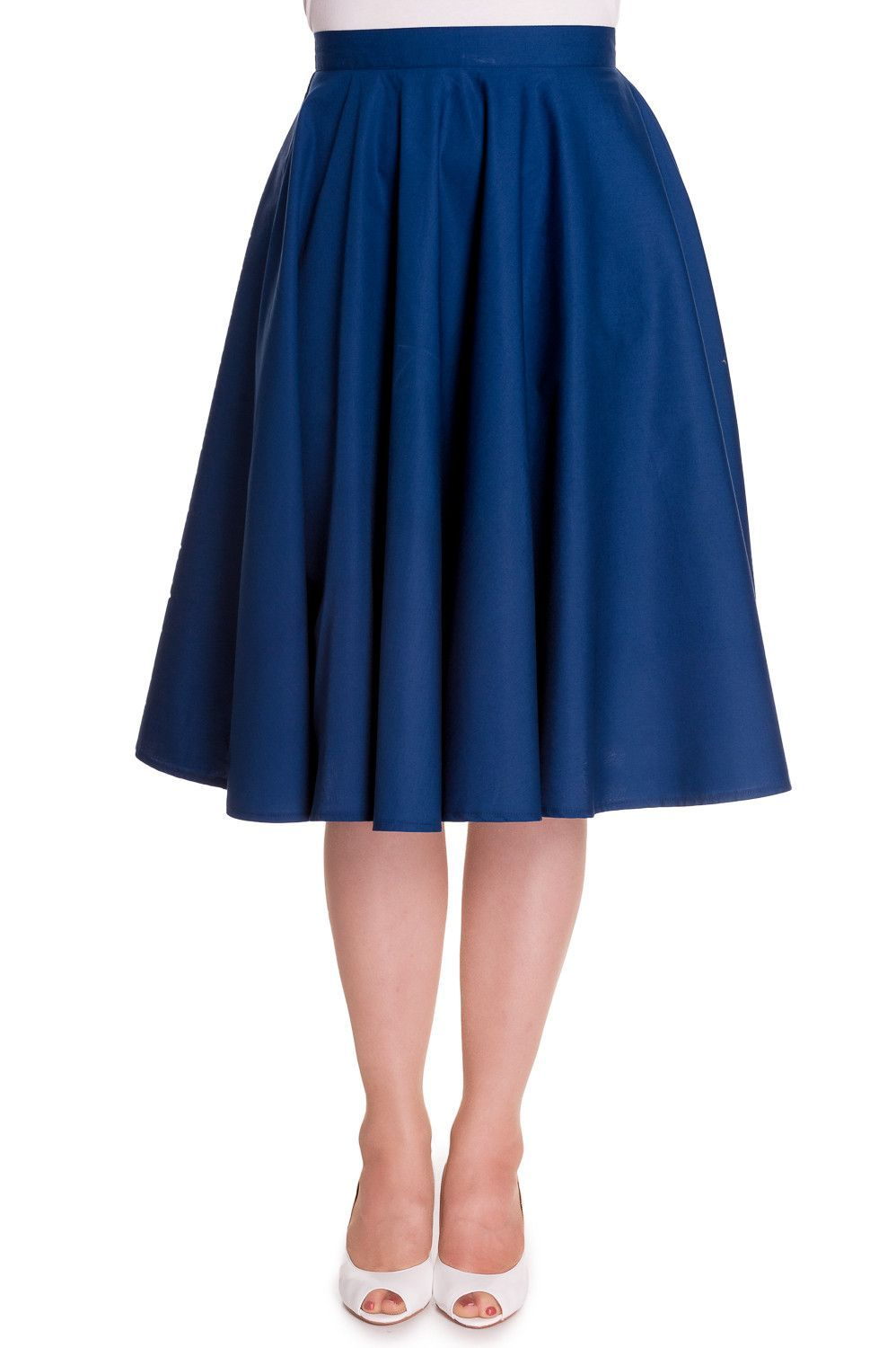 f47f2a0492 Must have retro 50's style circle skirt by Hell Bunny is made from a black  100% cotton, Full circle skirt with back zip button closure and perfect  length of ...