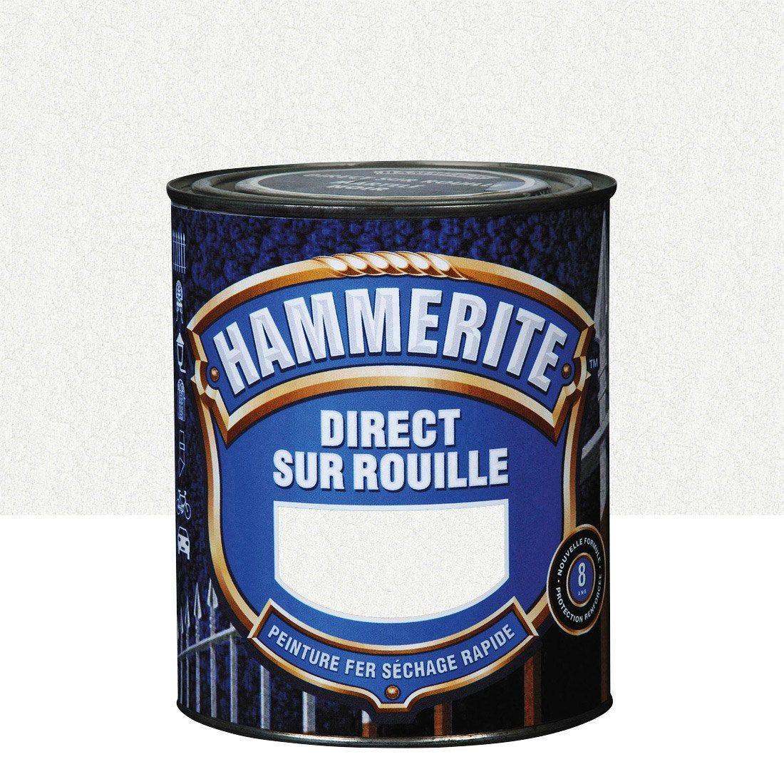 Peinture Fer Extérieur Blanc 2 5 L Hammerite In 2019
