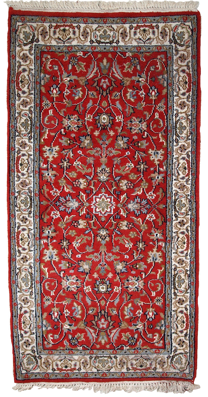 Handmade Vintage Indian Tabriz Rug En 2020