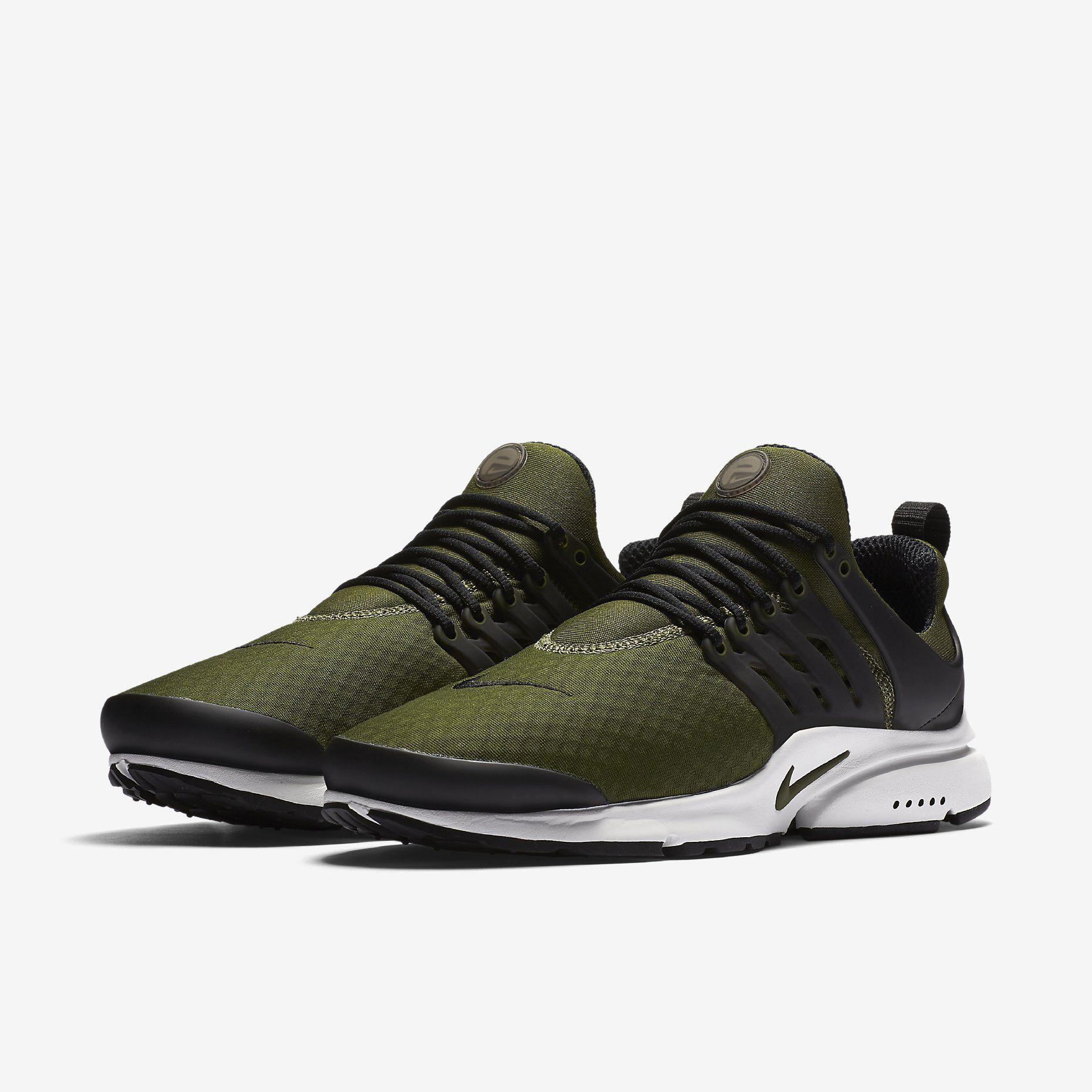 Nike Air Presto Essential Legion Green Nike Air Shoes Nike Air Presto Nike Air