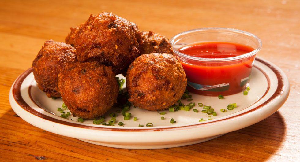 4 8 5 Recipe In 2019 Hush Puppies Recipe Food Network Recipes Food