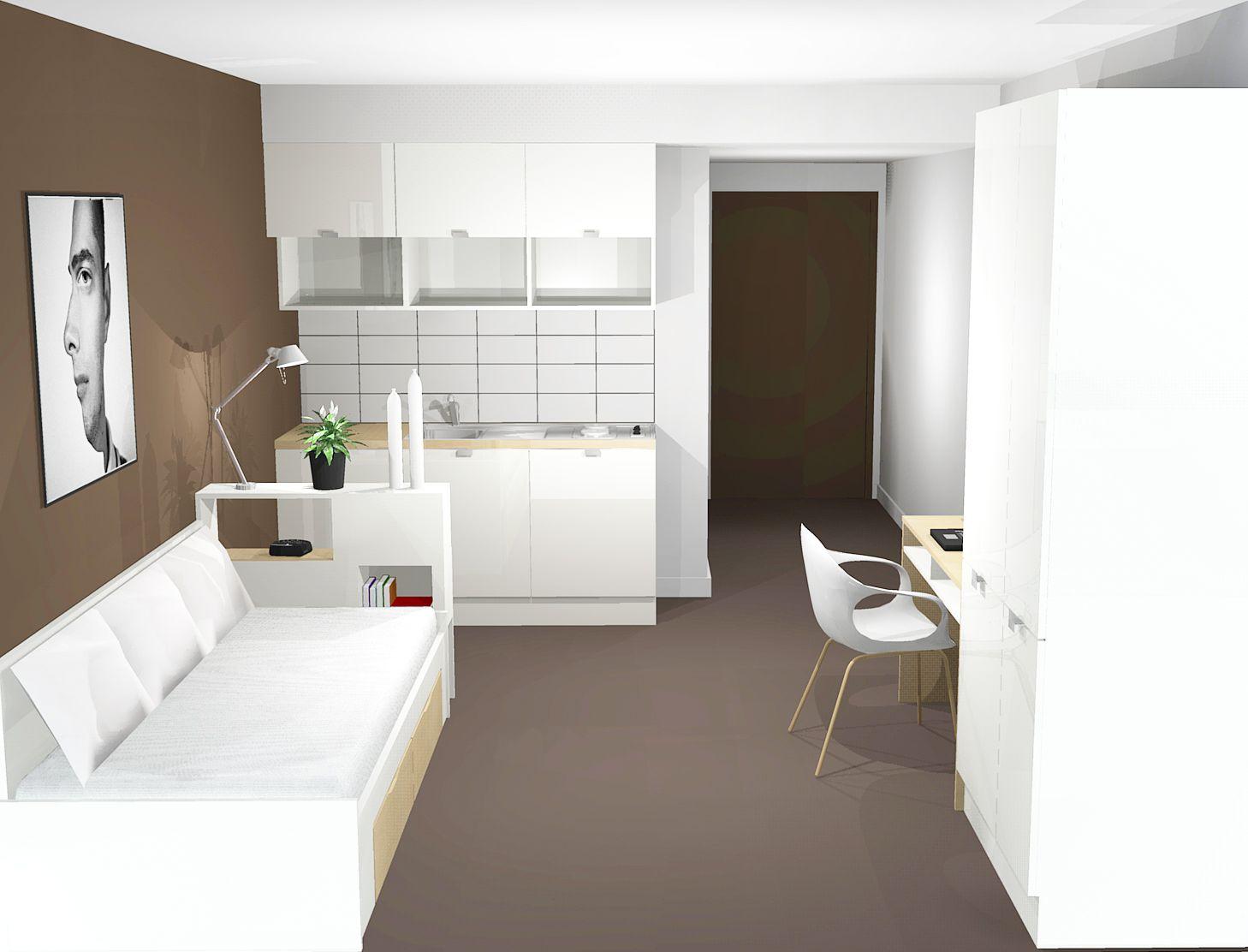 maison amitel logements pour jeunes actifs et tudiants strasbourg with dcoration studio tudiant 20m2. Black Bedroom Furniture Sets. Home Design Ideas