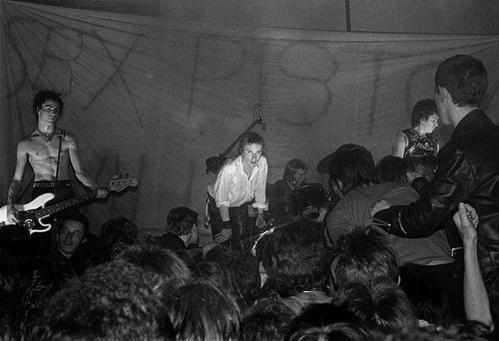 The SeX PisTOLs at Brunel University 1977 Picture (c) Graham Smith