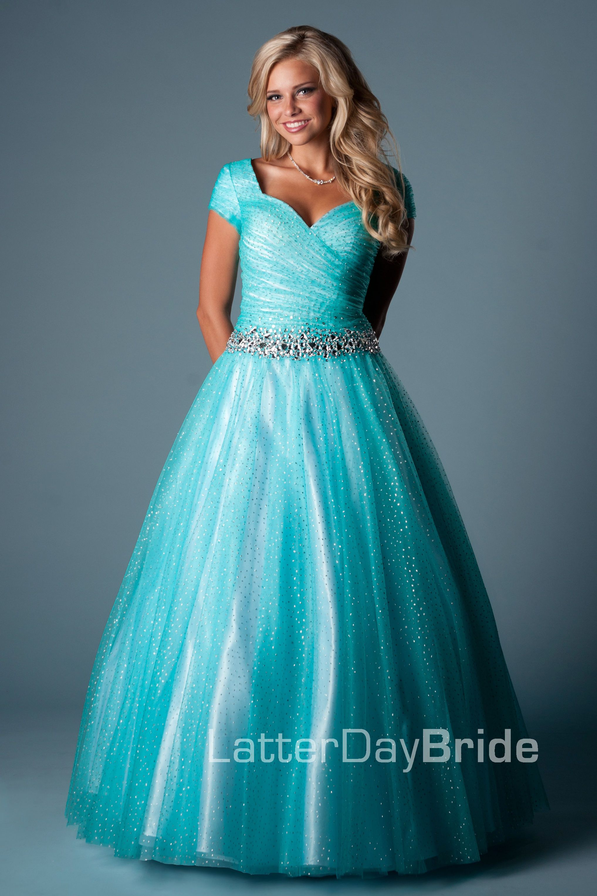 Modest prom dresses utah rental eligent prom dresses for Wedding dress rental utah