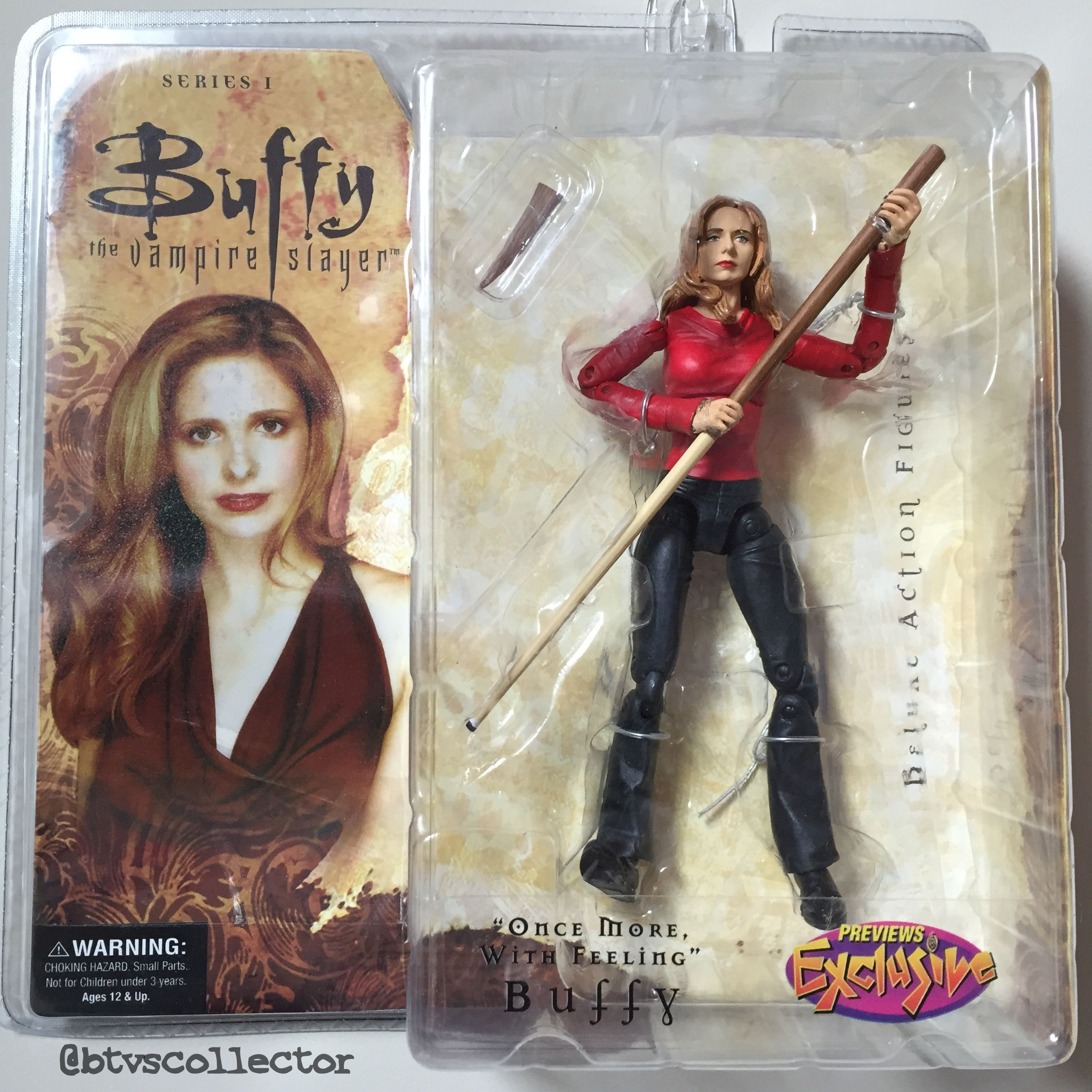 "Diamond Select - Buffy the Vampire Slayer Deluxe Figure - Series 1 - Previews Exclusive - ""Once More, With Feeling"" Buffy. #btvscollector #buffy #btvs #buffythevampireslayer"