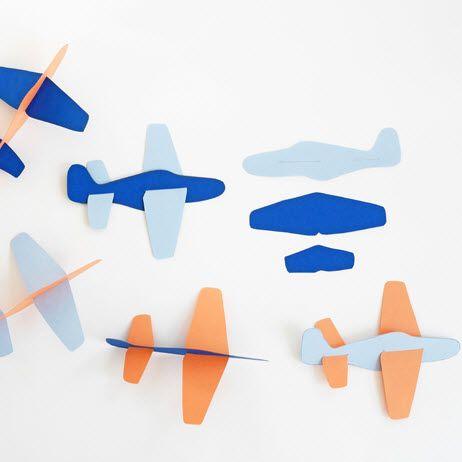 Préférence Avion en papier pour jouer … | Pinteres… BX85