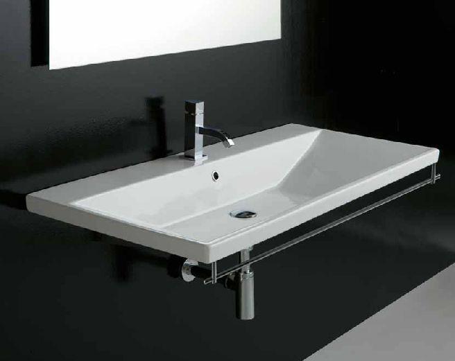 Lavabo sospeso tight varie misure si può utilizzare sia sospeso