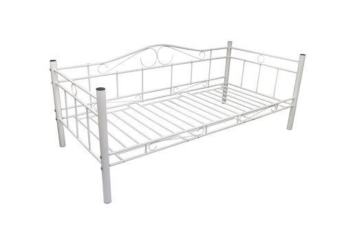 Tagesbett Einzelbett 90x200 Metallbett Metall Bett Bettgestell