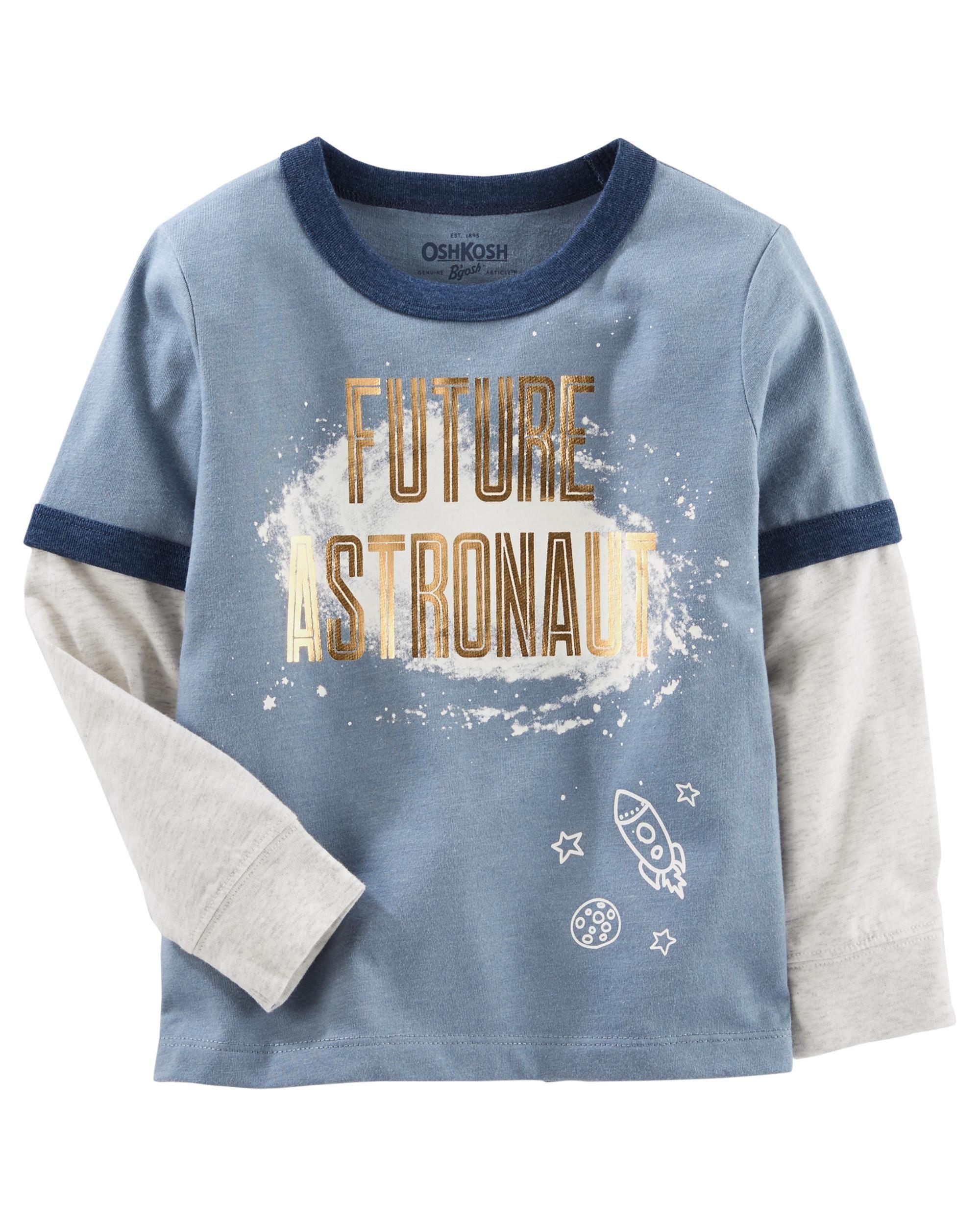 3f5e90cbfdd Toddler Boy Layered-Look Graphic Tee