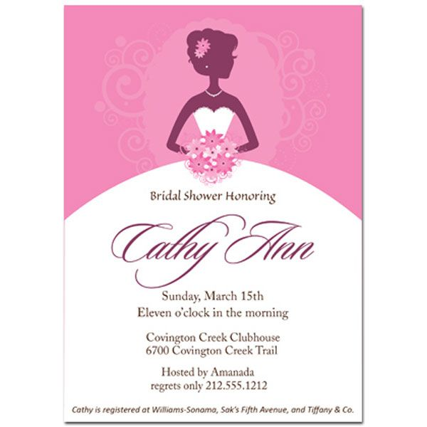 Bridal Shower Invitation Cards Awesome Invitation Pinterest - invitation template bridal shower