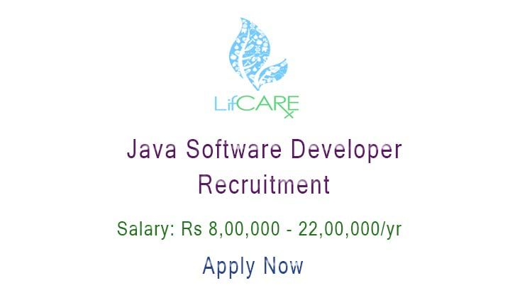 Java Software Developer Recruitment At Lifcare Job Role Java