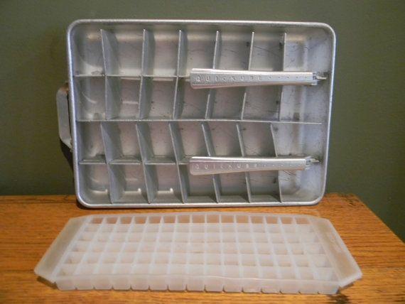 Vintage Ice Cube Trays