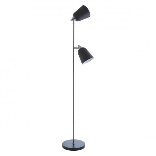 Floor Lamp Contemporary Lighting, Corner Floor Lamp With Shelves Uk
