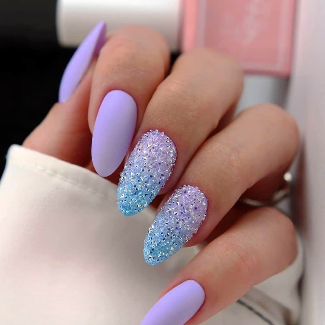 Top 50 Easy Nail Designs For Short Nails Purple Acrylic Short Square Nails Design For Summer Nails French Ma In 2020 Simple Nails Nail Designs Simple Nail Designs