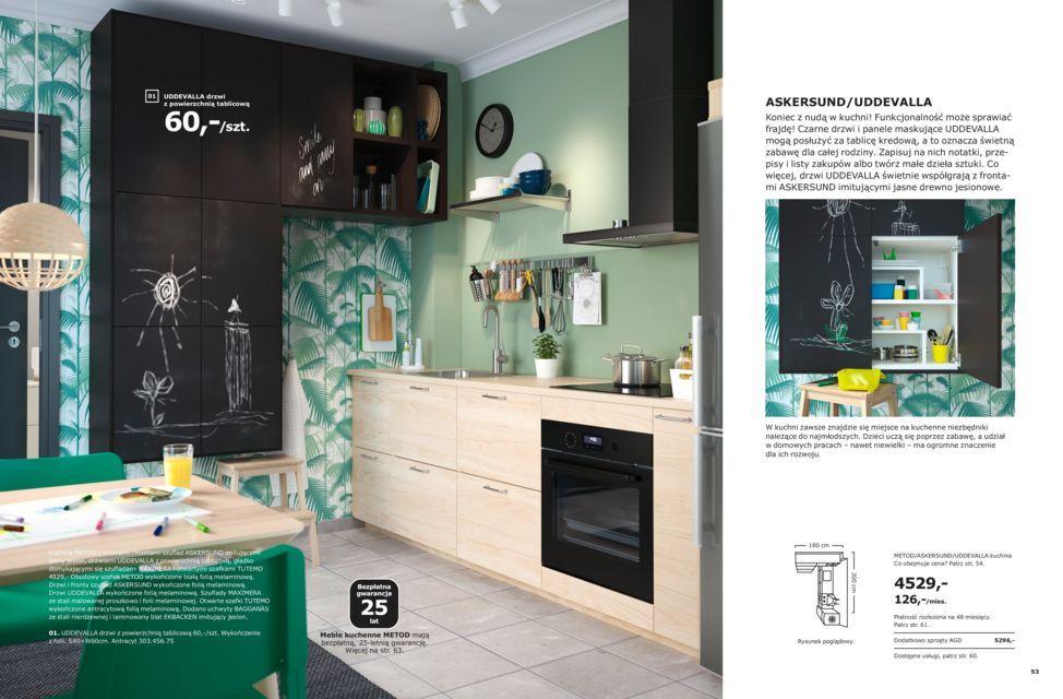 Kuchnia Osobista Broszura Kuchnie Ikea 2019 Skorupki W