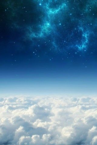 Cosmos Above White Clouds Iphone 5 Wallpaper Cloud Wallpaper