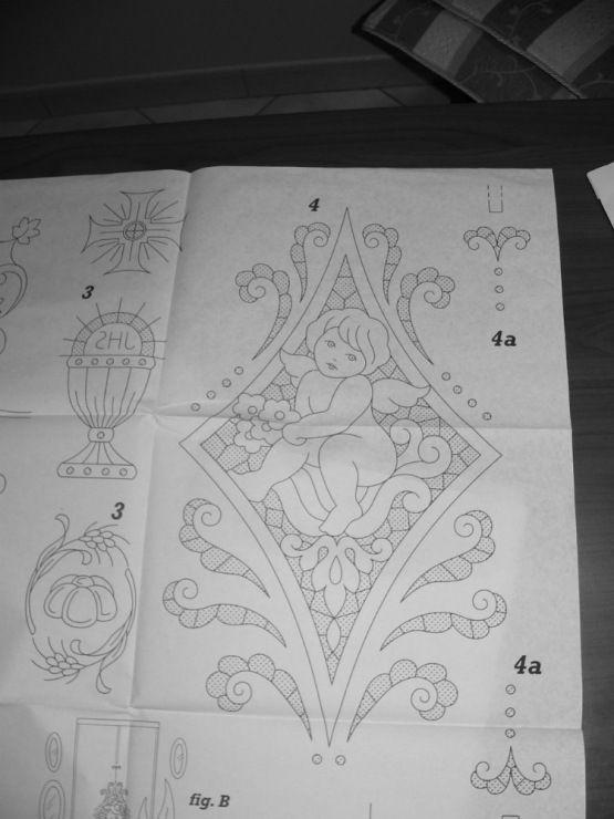 23 disegni ricamo antonellag for Glass cut work designs