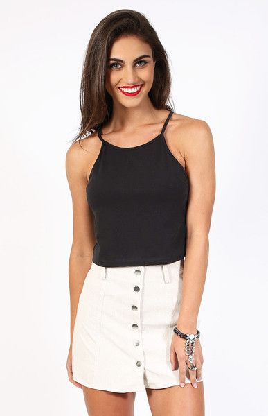 Intrinsic Crop Black $39 http://bb.com.au/collections/new/products/intrinsic-crop-black#