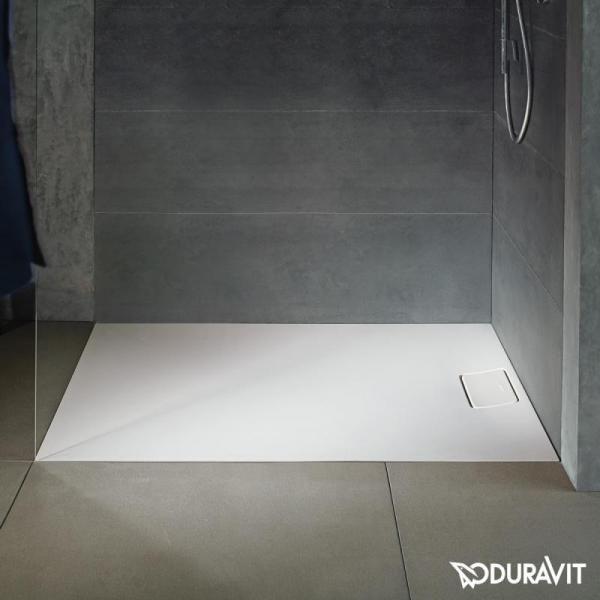 Duravit Stonetto Hidden Drain Shower Receptor Shower Tray Duravit Bathroom Layout