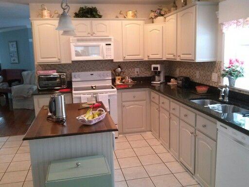 Behr Kitchen Cabinet Paint kitchen cabinets painted.behr sculptor clay. | design dreams